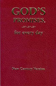 Gods Promises For Every Day (Ncv)