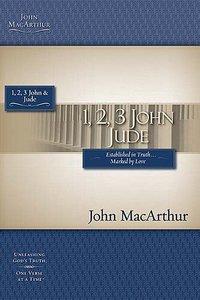 1, 2, 3 John & Jude (Macarthur Bible Study Series)