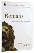 Jsbs Romans (John Stott Bible Studies Series)