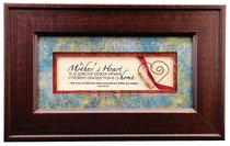 From the Heart Plastic Framed Art: A Mothers Heart