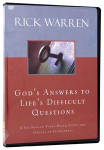 Gods Answers to Lifes Difficult Questions (Dvd)