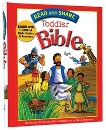 Toddler Bible (Incl DVD) (Read And Share Series)