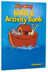 Activity Book (Volume 1) (#01 in Itty Bitty Bible Series)