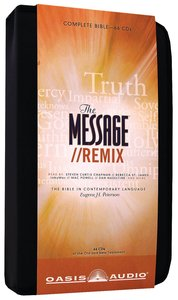 Message//Remix Complete Bible on Audio CD With Carrying Case (66 Cds)