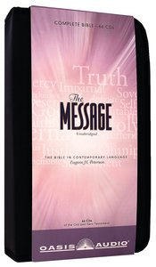 Message Complete Bible on Audio CD With Carrying Case (66 Cds)