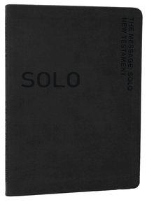 Solo New Testament Devotional Black (Message)