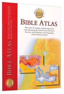 Bible Atlas (Essential Bible Reference Series)