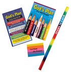 Gods Plan Gift Stationery Pack: Pencil, Eraser, Notepad And Bookmark