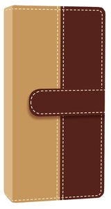 NIV Trimline Bible Camel Chocolate Duo-Tone (Red Letter Edition)