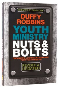 Youth Ministry Nuts and Bolts