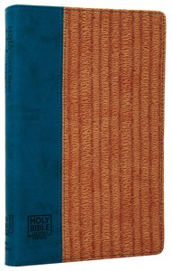 GNB Thinline Bible Blue/Textured Sand Flexitone Thumb-Indexed