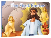 First Easter, The (10 Pages And 5 Jigsaw Puzzles) (Puzzle Book)