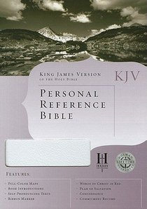 KJV Personal Reference Bible White