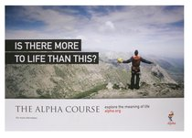 Is There More to Life Than This? Poster A3 (Landscape) (Alpha Course)