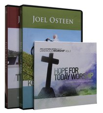 Taking a Stand For the Family/Keep Pressing Forward/Free to Worship (Joel Osteen Pack Series)