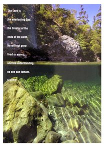 Poster Large: The Lord is the Everlasting God