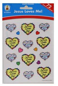 Sticker Pack: Jesus Loves Me! Kid-Drawn