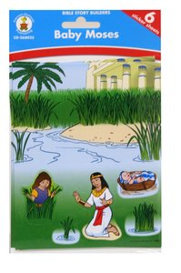 Bible Story Builders: Baby Moses Stickers