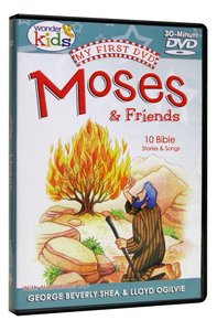 My First DVD: Moses and Friends (Wonder Kids Series)