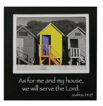 Magnetic Picture Frame: Yellow House