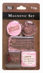 Magnetic Set of 5 Magnets: Pure