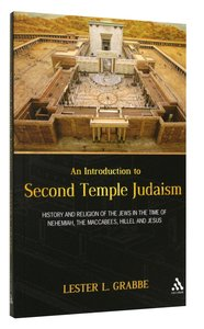 An Introduction to Second Temple Judaism