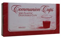 Communion Cups Disposable Box of 500