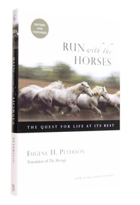Run With the Horses (And Expanded)