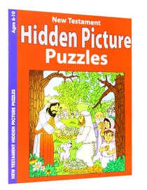 New Testament Hidden Pictures (Ages 6-10, Reproducible) (Warner Press Colouring & Activity Books Series)