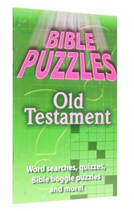 Activity Book: More Bible Word Puzzles (Reproducible)