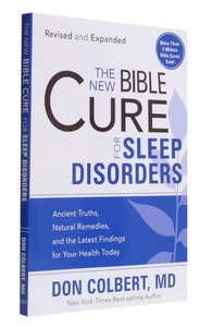 The New Bible Cure For Sleep Disorders (The New Bible Cure Series)