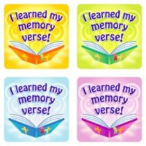 Sticker Pack: I Learned My Memory Verse