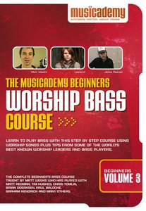 Musicademy: Beginners Worship Bass Course Volume 3