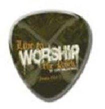 Witness Gear Metal Pin: Live to Worship