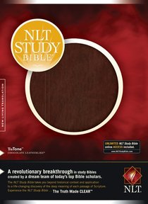 NLT Study Bible Chocolate/Chocolate (Red Letter Edition)