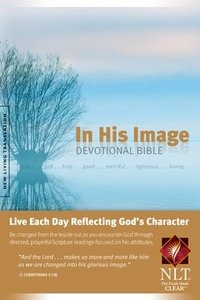 NLT in His Image Devotional Bible (Black Letter Edition)