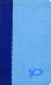 KJV Study Bible For Boys Blue/Light Blue Duravella (Red Letter Edition)
