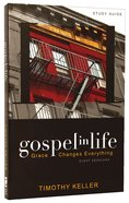 Gospel in Life (Participants Guide)