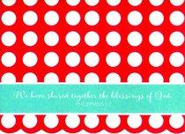 Everyday Notes: Polka Dot, Philippians 1:7