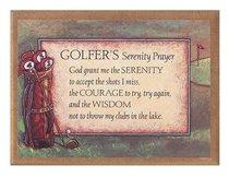 Plaque: Golfers Serenity Prayer