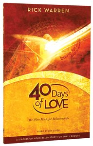 40 Days of Love (Study Guide)