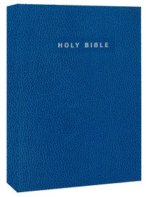 NIV Gift & Award Softcover Bible Blue (Red Letter Edition)
