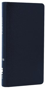 NIV Trimline Bible Navy (Red Letter Edition)