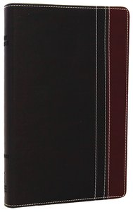 NIV Thinline Bible Charcoal/Rich Red Duo-Tone (Red Letter Edition)