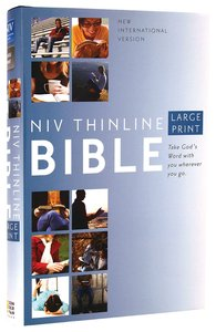 NIV Large Print Thinline Bible (Red Letter Edition)