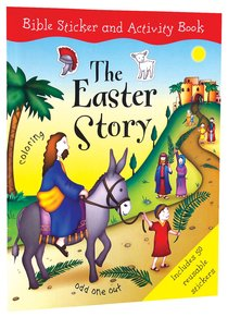 Bible Sticker and Activity Book: The Easter Story