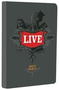 NLT Live Charcoal Sketch (Black Letter Edition)