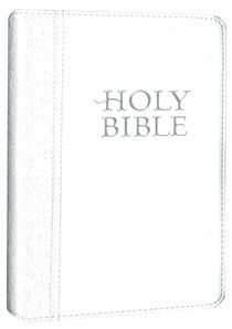 NLT Compact White (Black Letter Edition)