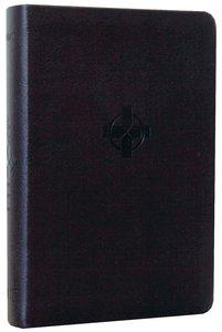 NLT Compact Bible Black Cross (Black Letter Edition)