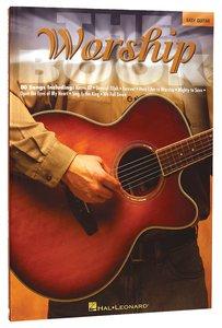 Worship Book - Easy Guitar (Music Book)